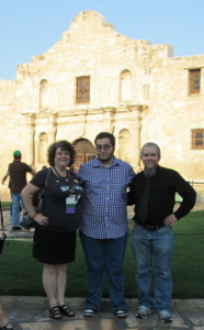 Here we are at the Alamo near the Mall.