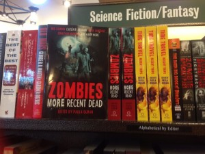 zombie prime in book store