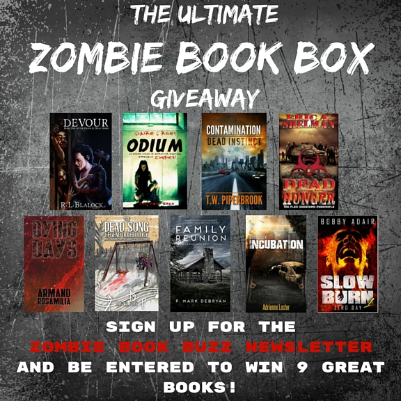 The Ultimate Zombie Book Box Giveaway